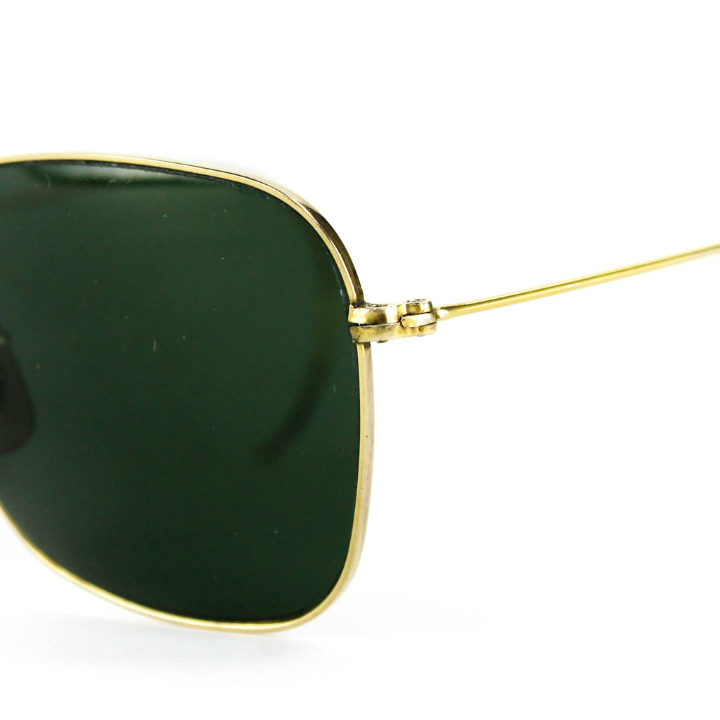 7282333128f95 Gold Plated Vintage Ray Ban Sunglasses – Goodbye Folk