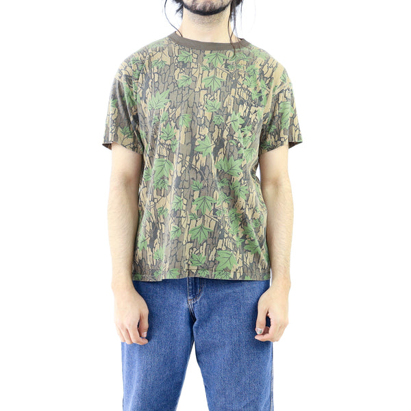 Sacramento Green Camo Leaves Vintage T-shirt