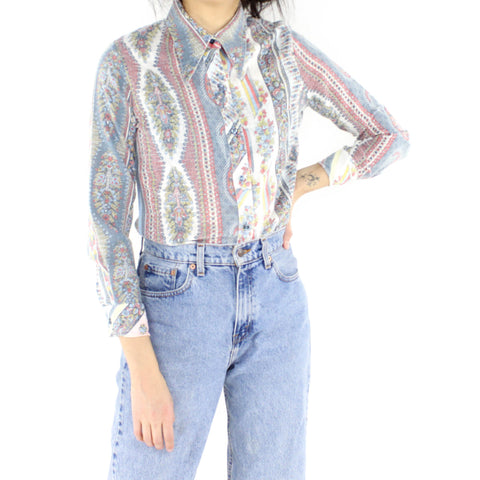 Cold Tapestry Blouse