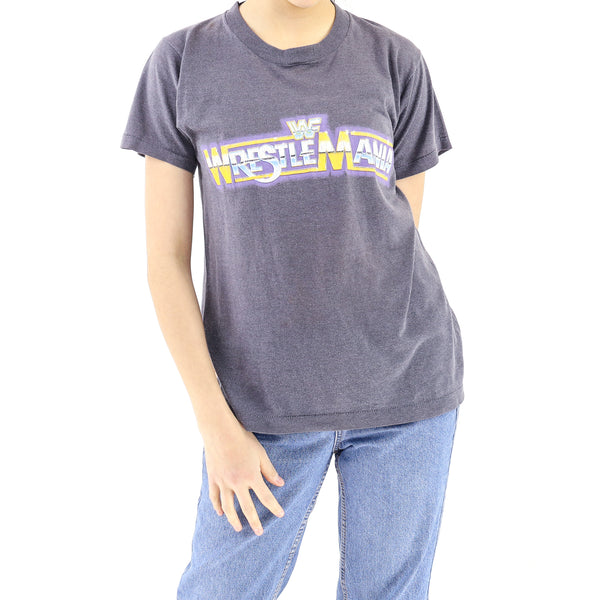 """Wrestle Mania""Cotton Lava Grey T-Shirt"