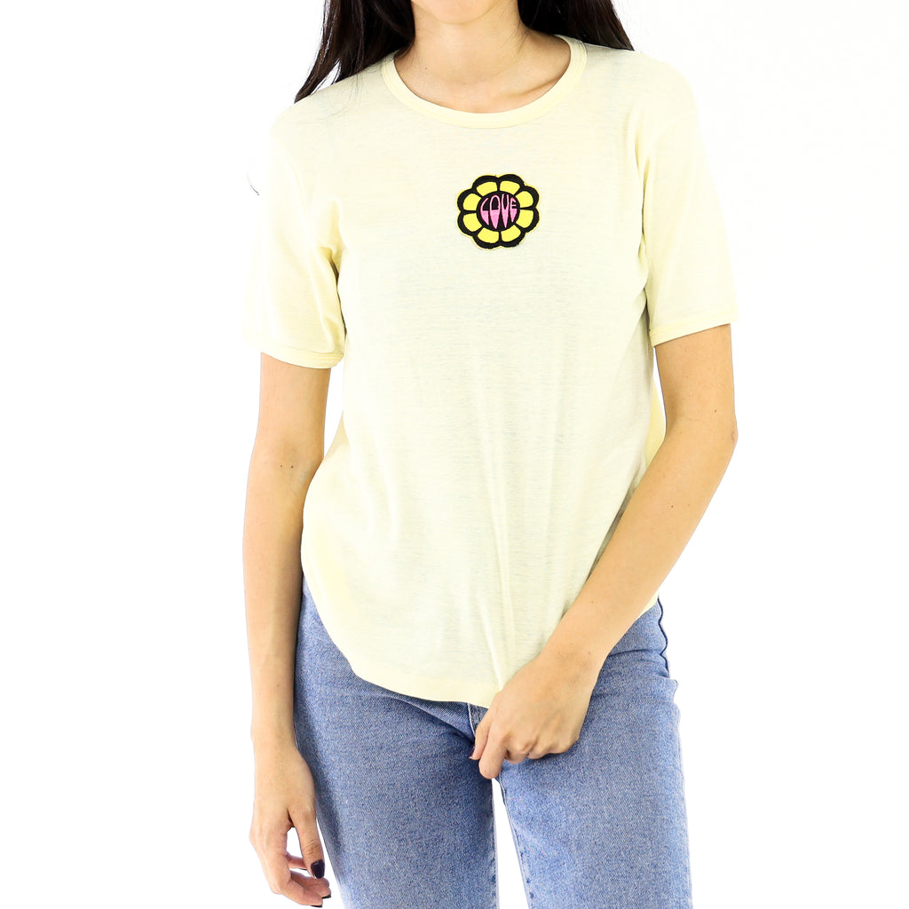 Love Flower Mellow Yellow T-Shirt
