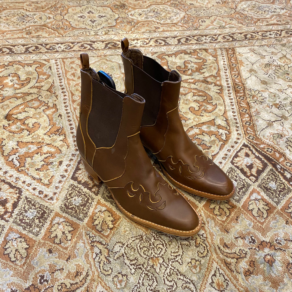 June boot - Brown