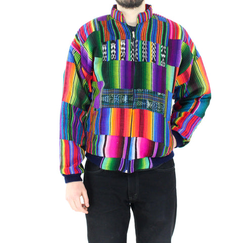 Multicolor Bomber Jacket