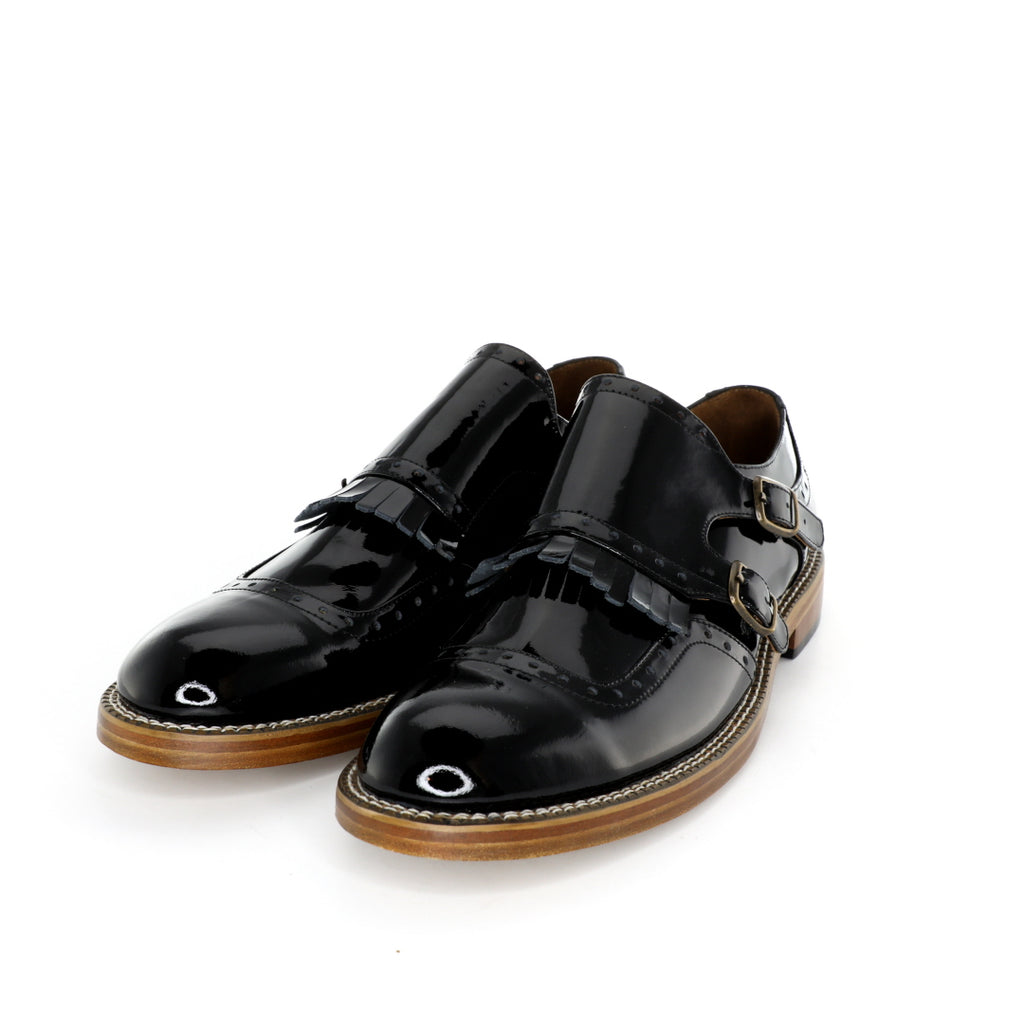 Monk - Black Patent