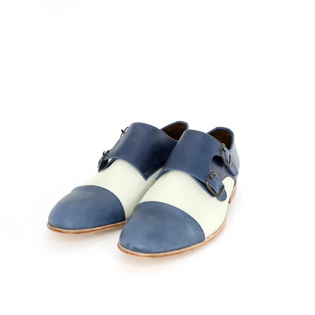 Monk Vagabundo - Blue & Beige Women's