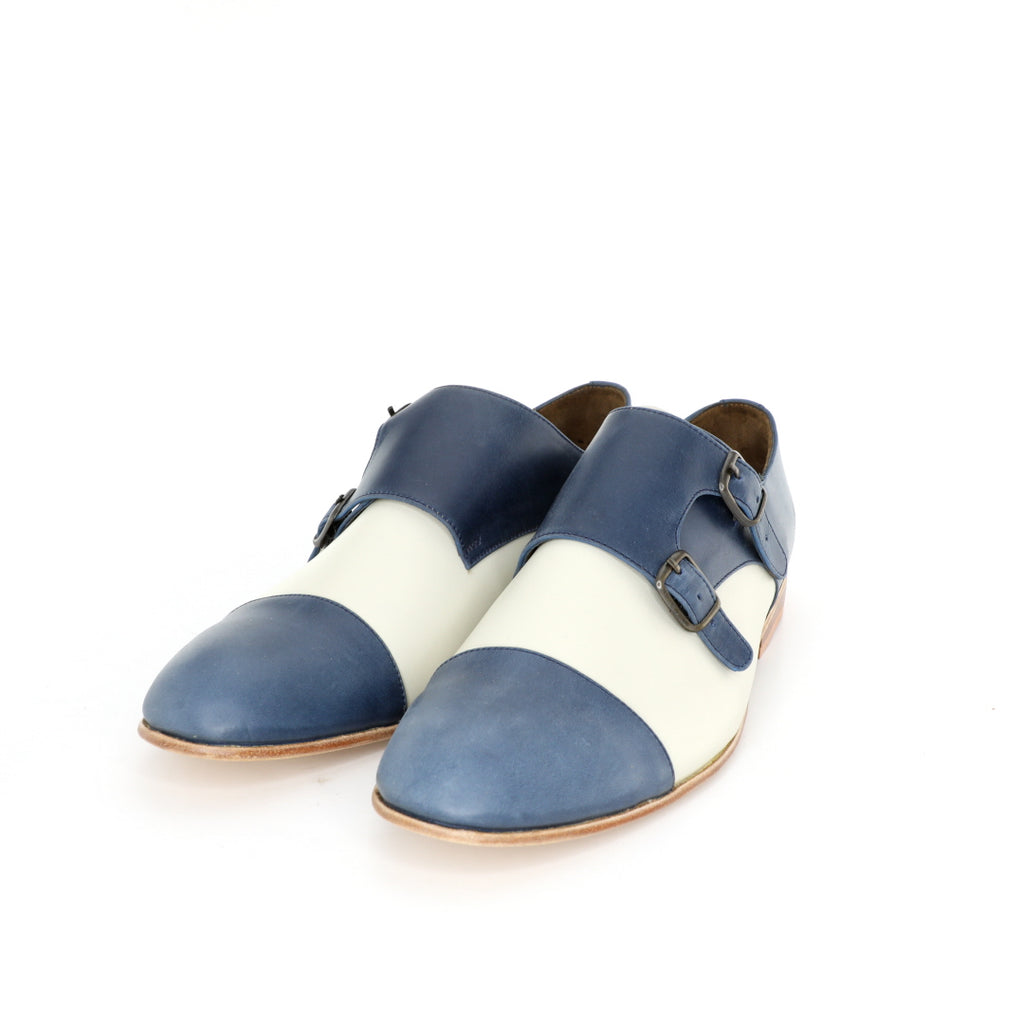 Monk Vagabundo - Blue & Beige Men's