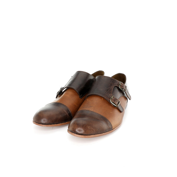 Monk Vagabundo - Tanned & Chocolate Leather Men's