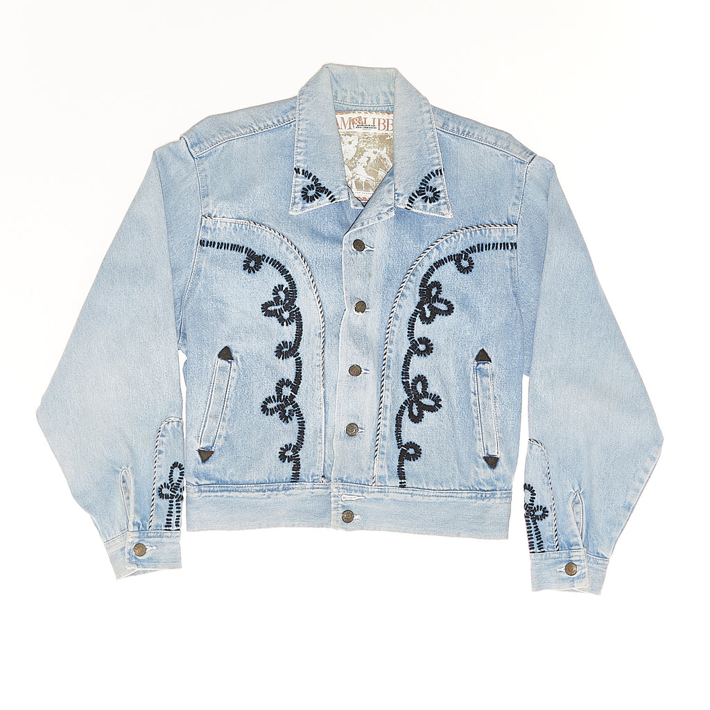 Vintage Western Denim Jacket