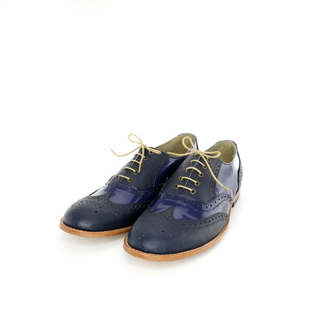 Oxford - Blue Patent