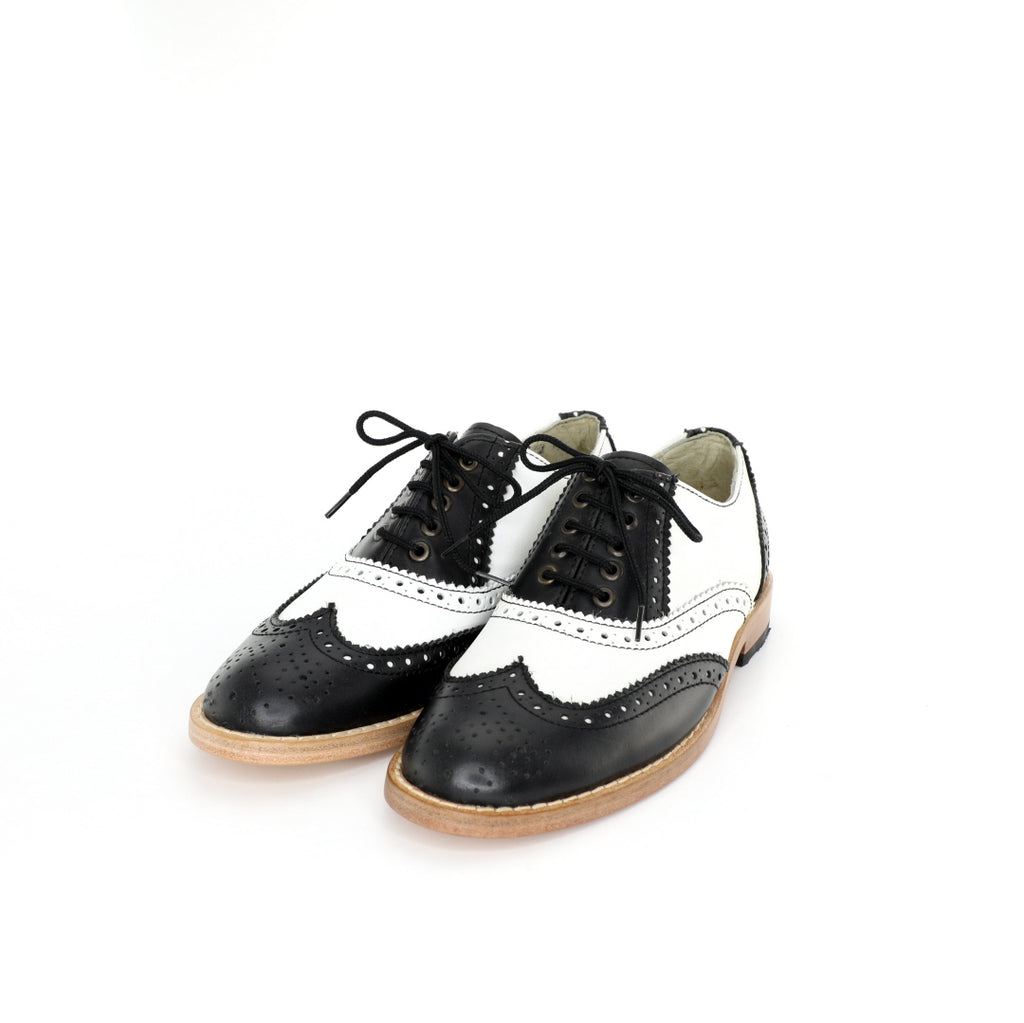Oxford BR - Black & White Women's
