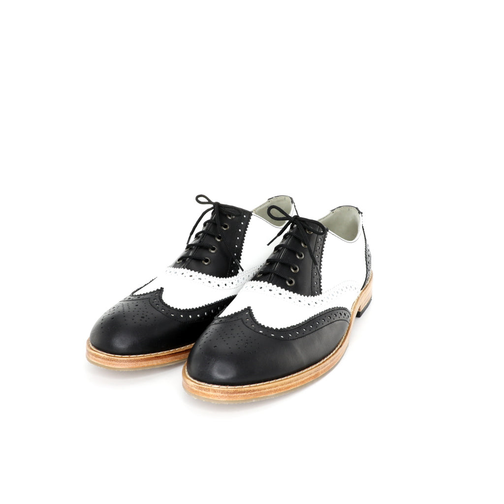 Oxford BR - Black & White Men's