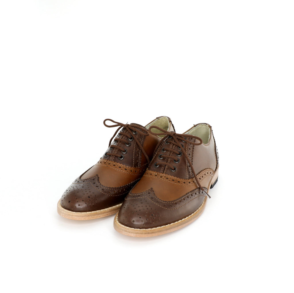 Oxford BR - Tanned & Brown Women's