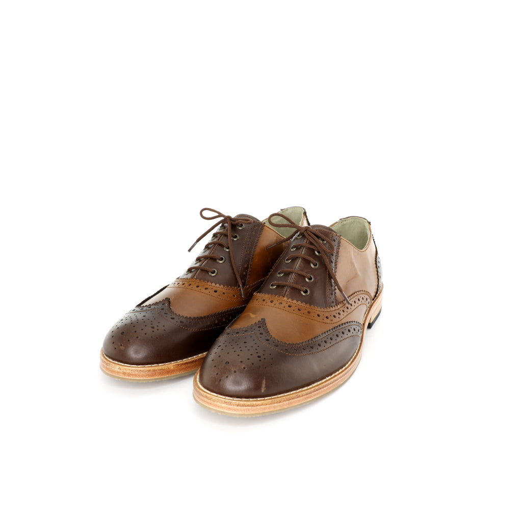 Oxford BR - Brown & Tanned Men's