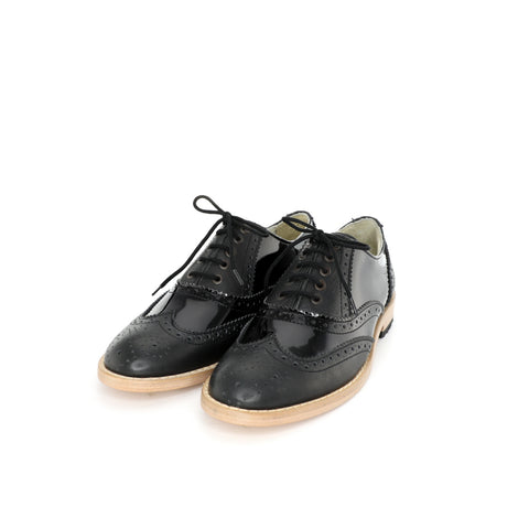 Oxford BR - Black Patent Women's