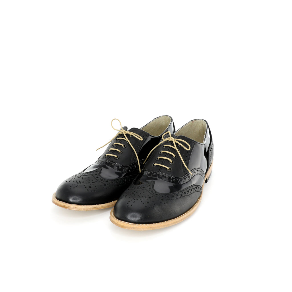 Oxford - Black Patent Men's