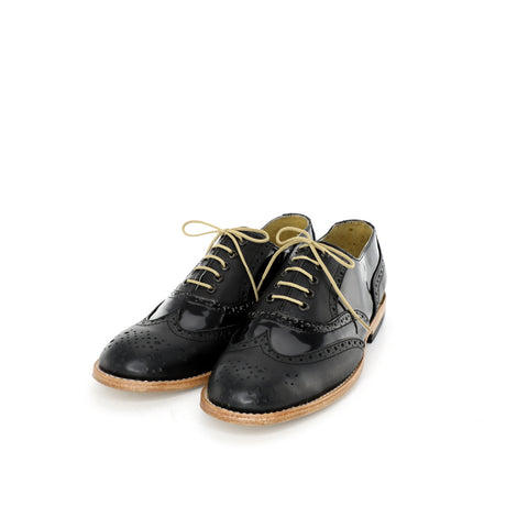 Oxford - Black Patent Women's