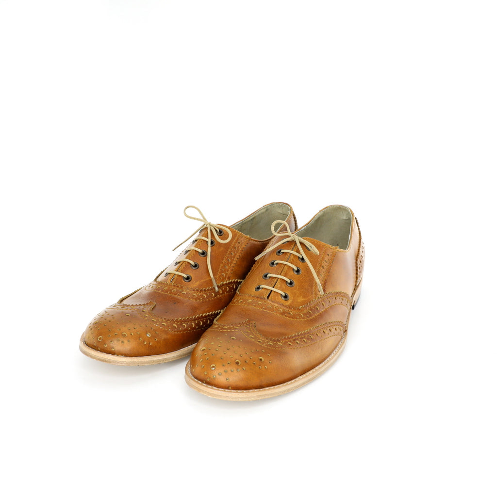 Oxford - Tanned & Scaled Men's