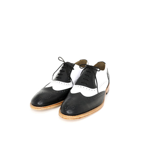 Oxford Puntal - Black & White Men's