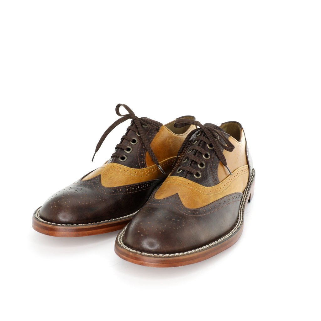 Oxford DC - Tanned & Dark Brown