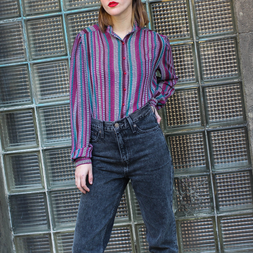Shades Of Fucsia Blouse
