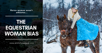 The Equestrian Woman Bias: riding isn't a sport and equestrians aren't real athletes…right? Outdoor Retailer thinks so.