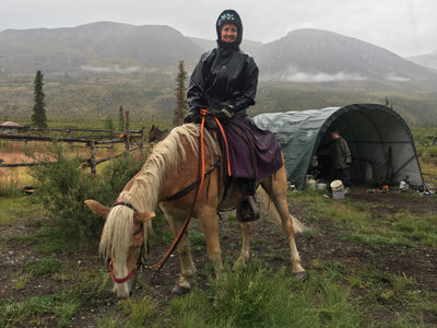 Chasing the Rain- How We Waterproof Tested The Tongass Rain Riding Skirt