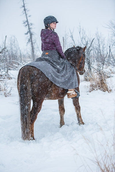 Arctic Horse All Weather Riding Skirt Tongass Rain Wet riding waterproof skirt rain pants breeches