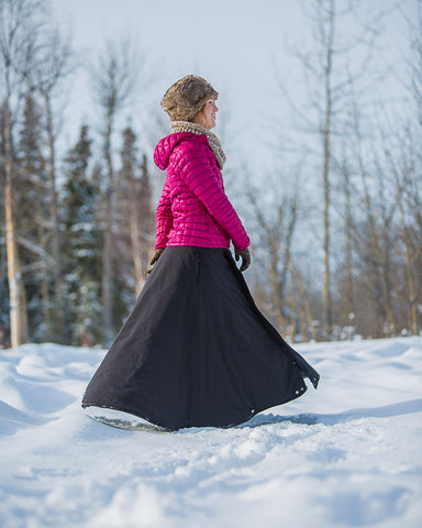 All Weather Riding Skirt Arctic Horse Insulated Riding skirt warm breeches winter riding