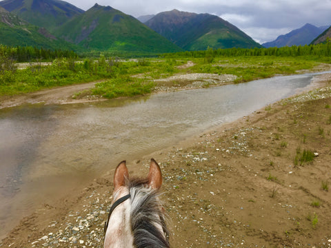 Boulder Creek Alaska Arctic Horse Tongass RAin Riding Skirt