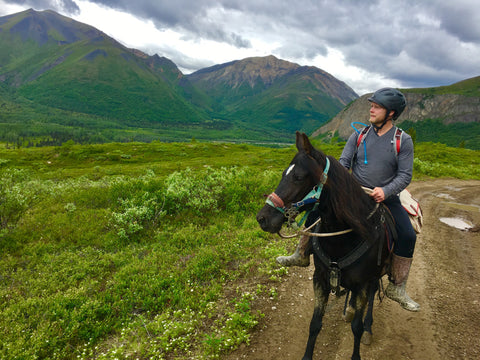 Arctic Horse Tongas Rain Riding Skirt Alaska Trail riding