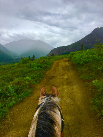 Boulder Creek Alaska Arctic Horse Tongass Rain Riding Skirt Trail Riding