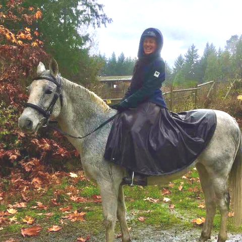 Tongass Rain Riding Skirt waterproof