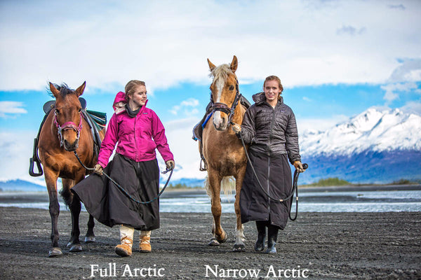Arctic Horse Full riding skirt riding skirt Arctic horse riding breeches winter skirt horse riding trail riding