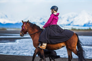 insulated riding skirt Arctic horse riding breeches winter skirt horse riding trail riding