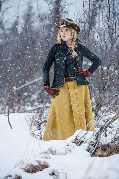 Arctic Horse Outlander Wool riding skirt riding breeches winter skirt horse riding trail riding