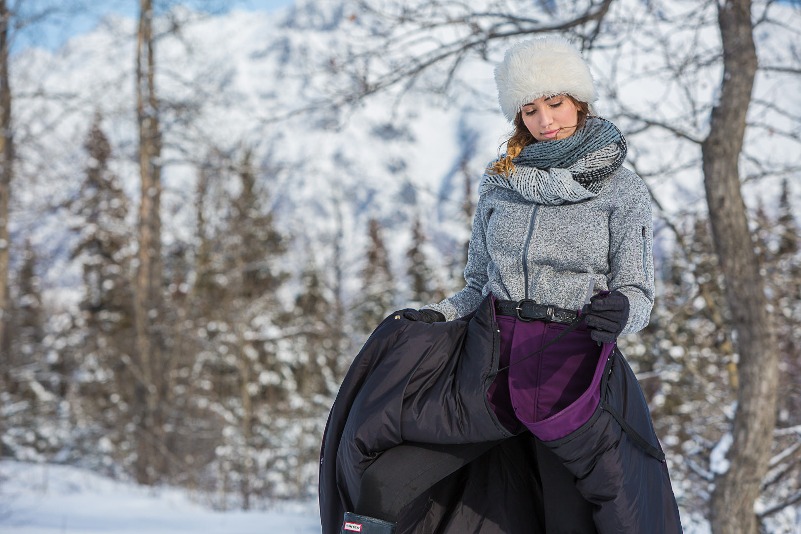 IN-STOCK Arctic Insulated Riding Skirt- Long Full