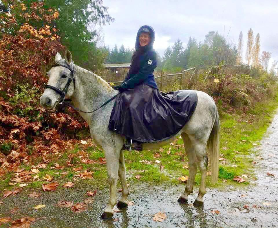 Tongass Rain Riding Skirt- Long