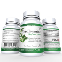100% Pure Suntheanine® Patented L-Theanine 150mg | 60 Veggie Caps