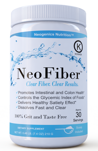 NeoFiber - Invisible Fiber Supplement Powder - No Grit, Tasteless - Clinically Studied - Neogenics