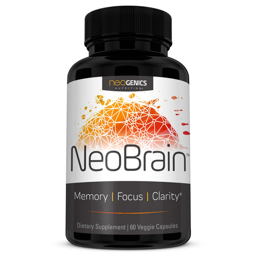 NeoBrain - Powerful Brain Nootropic - Focus, Energy, Clarity - 60 Count - Neogenics