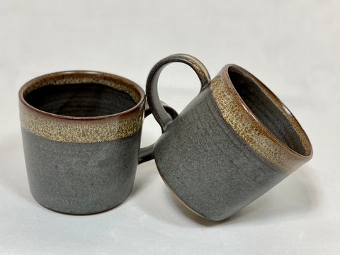 Pair of small coffee mugs