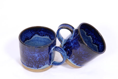Pair of Blue Nile Mugs