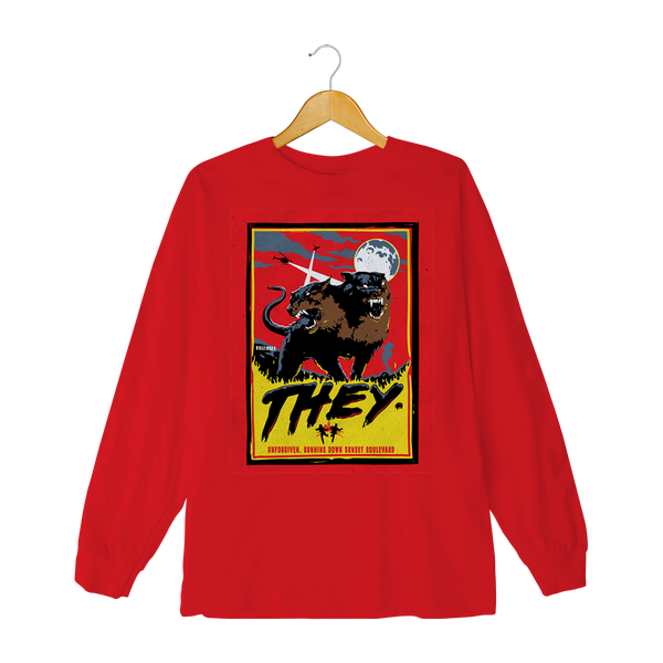 Wolves Longsleeve (Red)