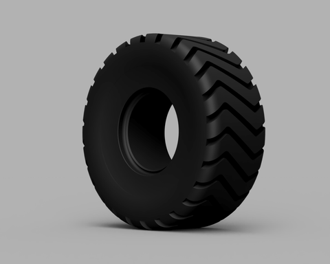 Loader Tire - Pneu de Chargeuse 01