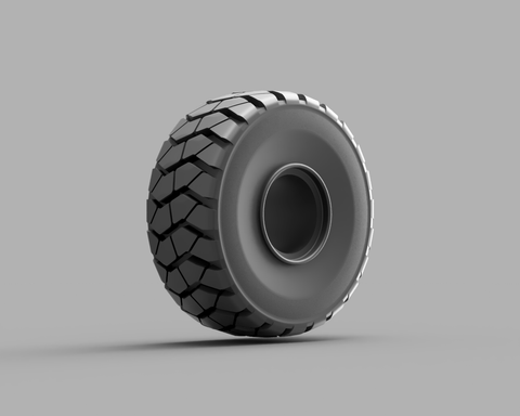 Articulated Dump Truck Tire 01