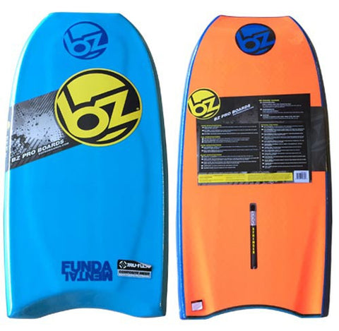 "BZ Fundamental 42"" Bodyboard Light Blue/ Blue/ Orange"