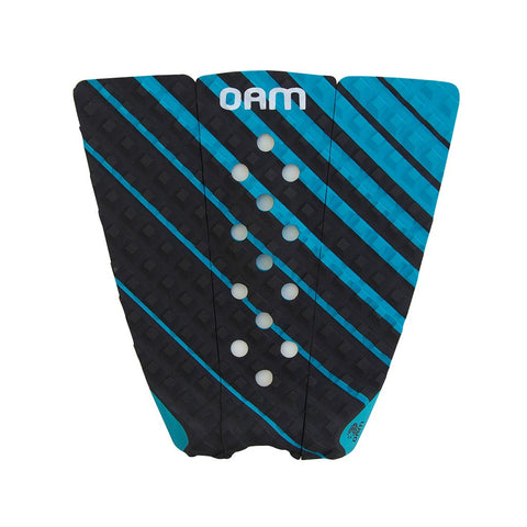 OAM On A Mission Brett Barley Gradient Series Surf Traction Pad Coral Blue/Charcoal 2016
