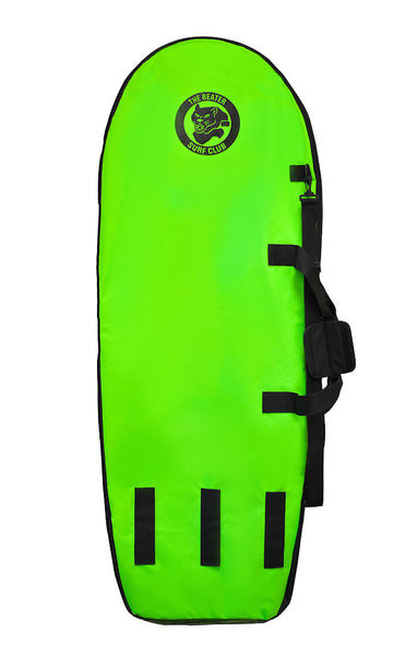 Catch Surf Beater Board Bag Black/Lime Back Side- DriftingThru.com