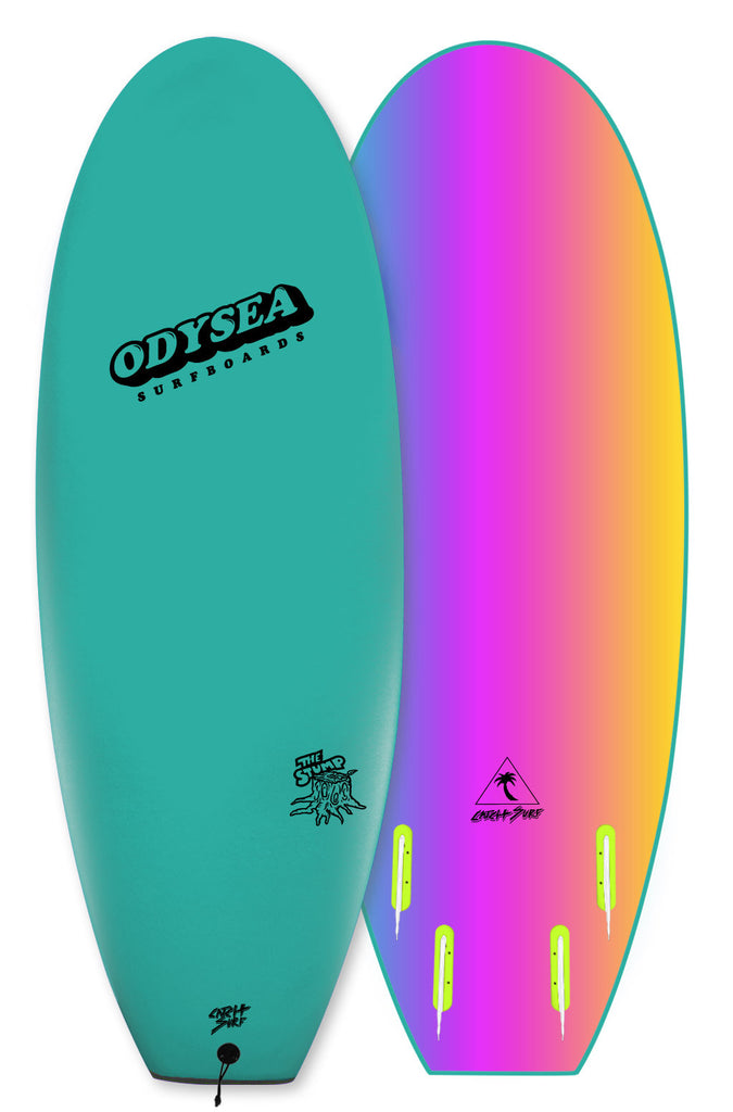 "Catch Surf Odysea 5'0"" Stump Quad Emerald Green"