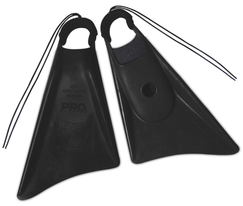 Churchill Makapuu Pro Swim Fins Black